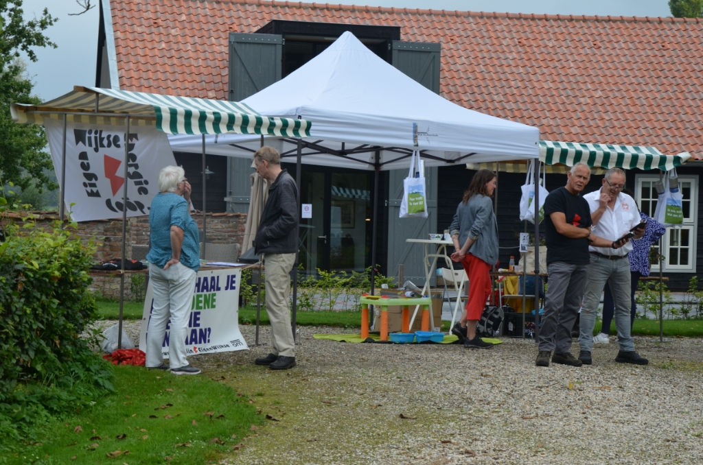 De duurzaamheidsmarkt in Overlangbroek Ali van Vemde © BDU media
