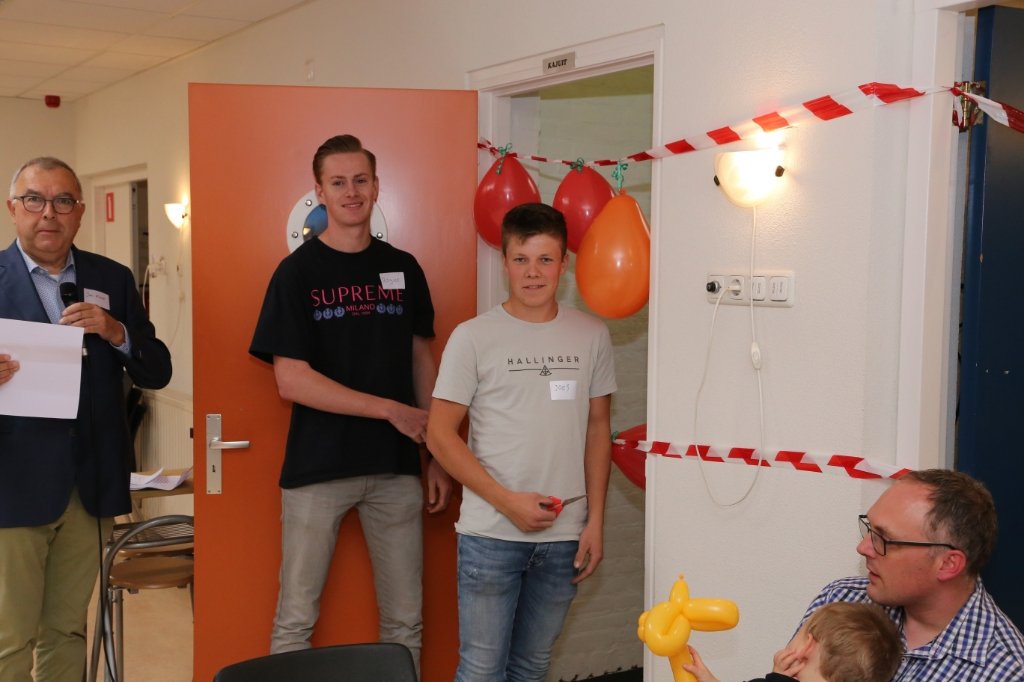 Joas van de Beek en Rogier van Enk zullen de Kajuit openen. Nieuwkoop Fotografie © BDU Media