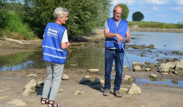 Alfred van Kessel en Marijke Molmans van Opgeruimd Wijk