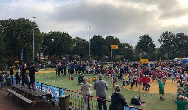 De opening van de derde Giga Kangoeroedag in 2019.