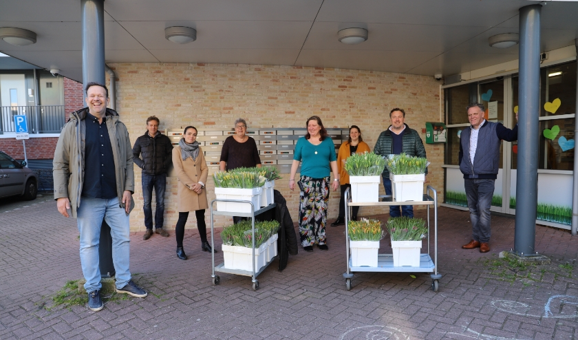 De ondernemers deden woensdag De Meander in Nieuwerkerk aan.