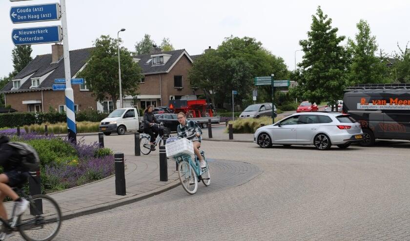 <p>De Noordelijke Dwarsweg in Zevenhuizen.</p>