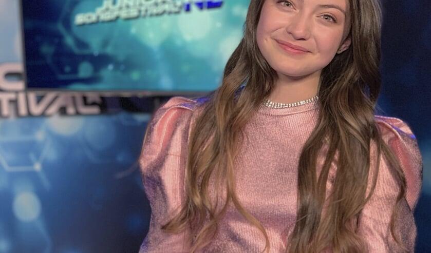 Gioia Parijs werd tweede op het Junior Songfestival en is binnenkort te horen in een nieuwe bioscoopfilm.