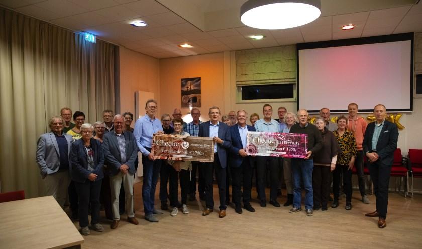 Beide hospices in Zuidplas kunnen dankzij de hervormde kerk Zevenhuizen 1750 euro bijschrijven op hun rekening. (foto: pr)