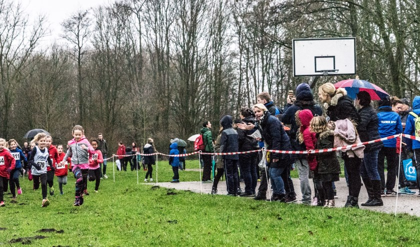 De jeugd in actie tijdens de Gouweboscross van vorig seizoen.
