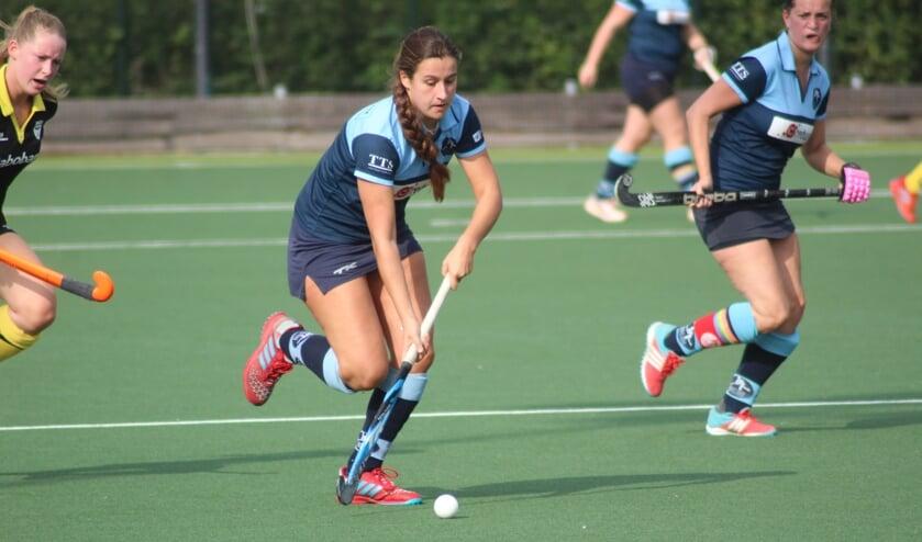 De dames van HC Waddinxveen kwamen tekort tegen Vianen (2-4).