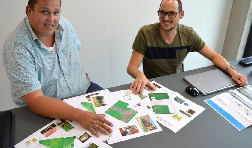 """Paul Wervenbos en Guus Moret: """"We focussen meer op grote speelplekken dan op kleine postzegeltjes."""""""
