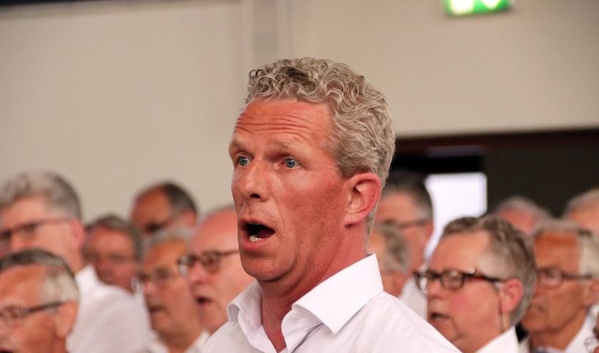Je hoeft geen prof te zijn om mee te zingen met het Groot Mannenkoor. (foto: Wim de Boevere)