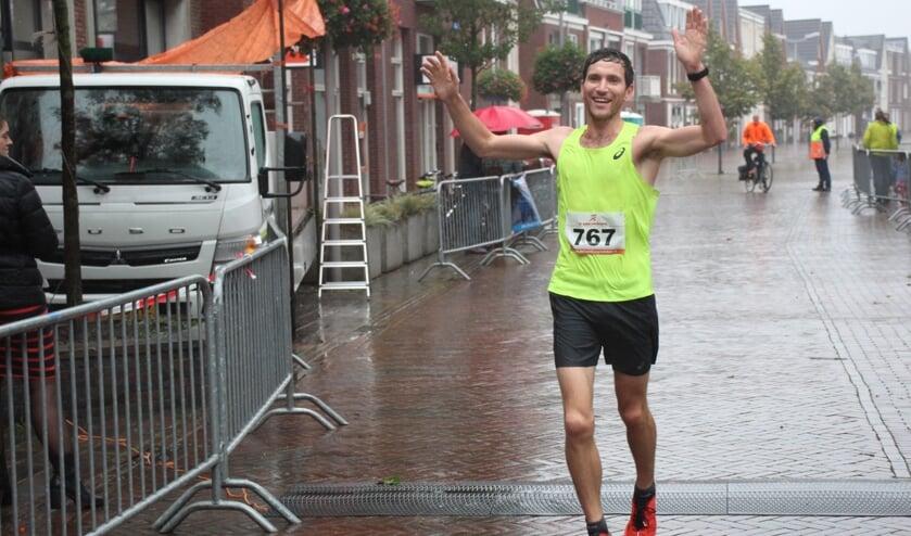 Roeland van der Halst won de 10 kilometer.