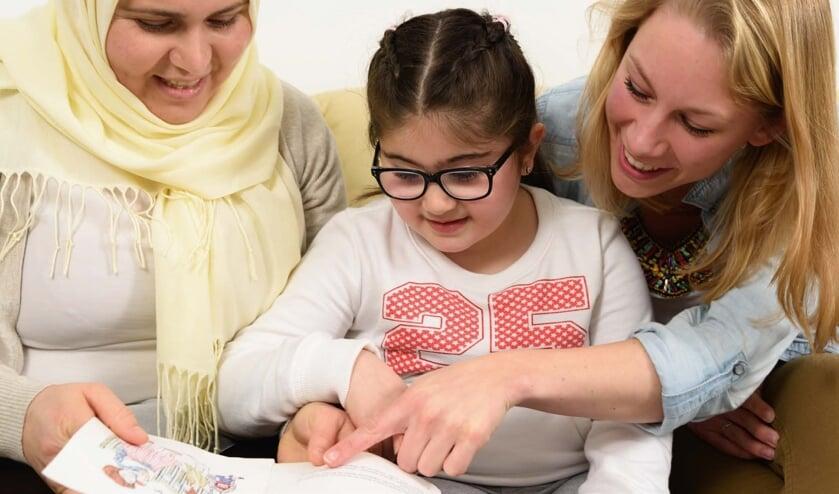 Lezen en voorlezen stimuleert de taalontwikkeling bij kinderen. (foto: pr)