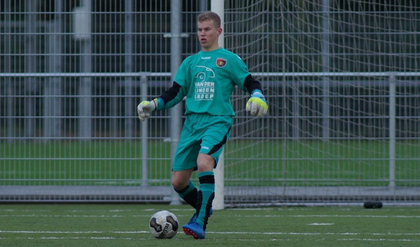 Keepers Niels Heijkoop. (foto: archief HvH)