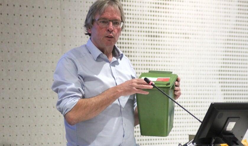 Martin Damen (PvdA/GroenLinks) wil flatbewoners van een kleine gft-container voorzien.
