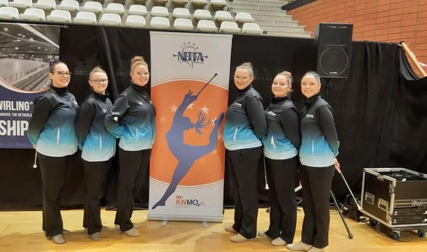De Illusion-ploeg tijdens de voorrondes van het NK. (foto: pr)