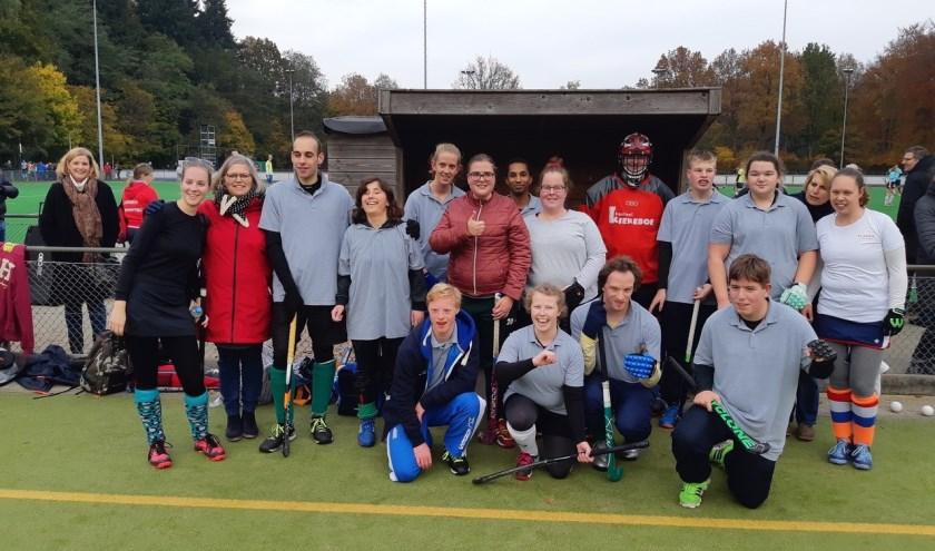Het G-hockeyteam speelt in Amersfoort, Velp en Ede. (foto: pr)