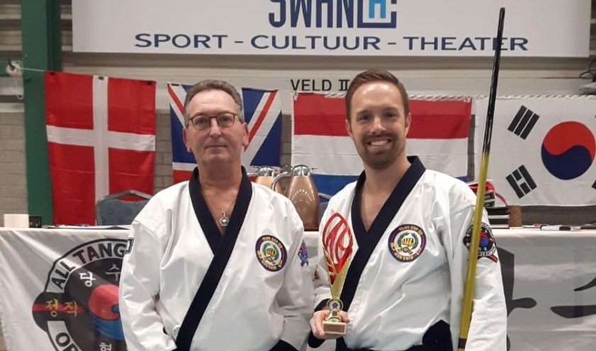 Ralph Metten (rechts) won zilver. (foto: pr)
