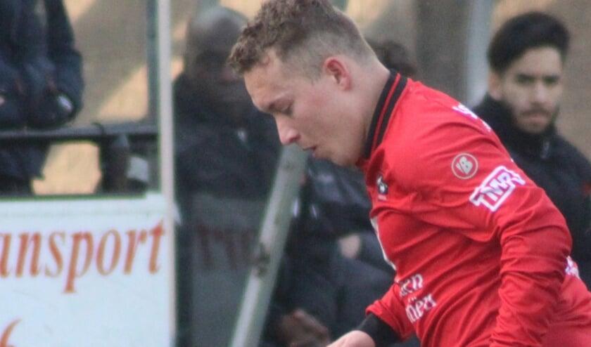 Remco Langerveld maakte het eerste doelpunt. (archiefbeeld)