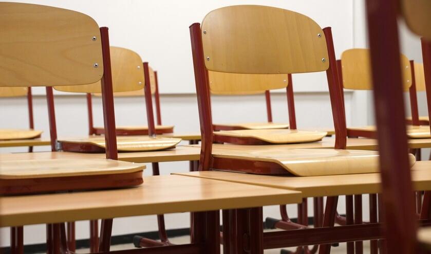 Bij vijf Waddinxveense basisscholen bleven de stoelen leeg vandaag.