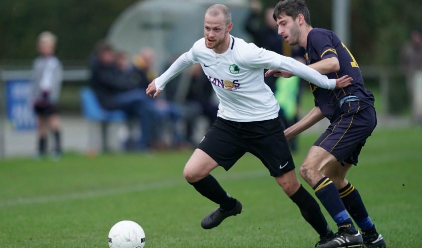 Martijn Kok maakte in de vierde minuut de 1-0. (foto: Stef Hoogendijk)