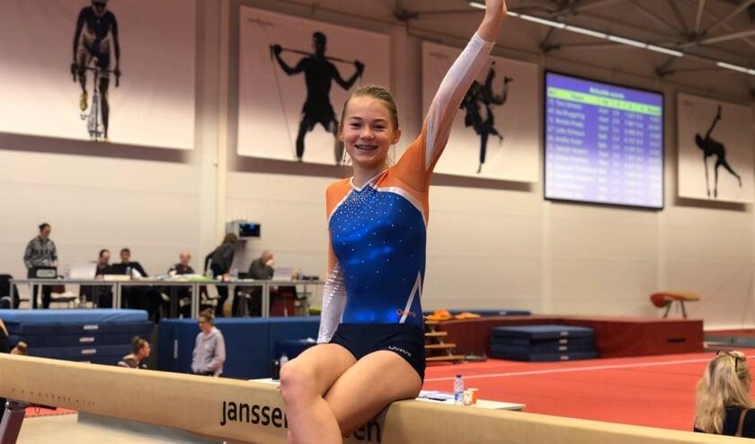 Tara Verheuvel kan zich begin januari plaatsen voor de districtsfinale. (foto: pr)