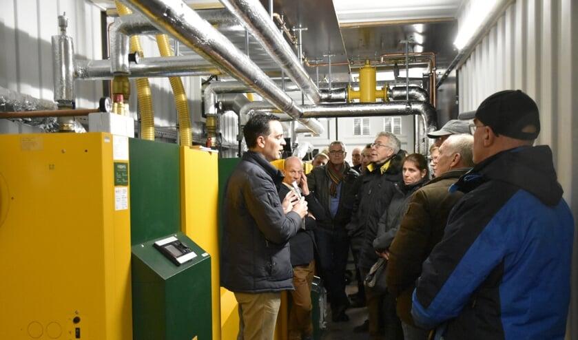 In maart werd uitleg gegeven over de nieuwe biomassa-installatie van De Sniep. (tekst: Nicole Lamers, foto: HvH)