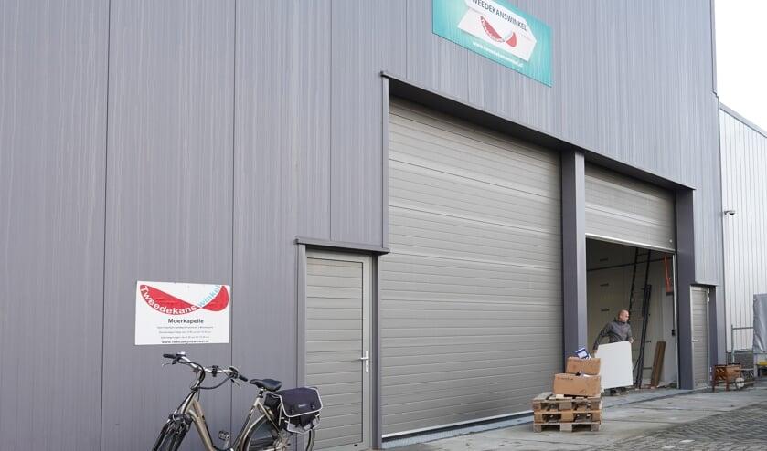 De Tweedekanswinkel opereert voortaan op één, grotere locatie. (foto: Jacolien Rog)