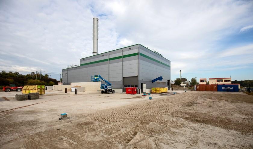 Biomassacentrale in Lelystad.