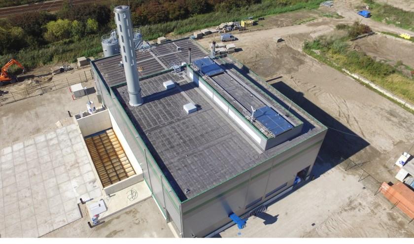 De bmc van Wagro is te vergelijken met deze in Lelystad en komt naast een tweede centrale te staan (van Wayland Energy) met eenzelfde omvang. (foto: Primco B.V.)