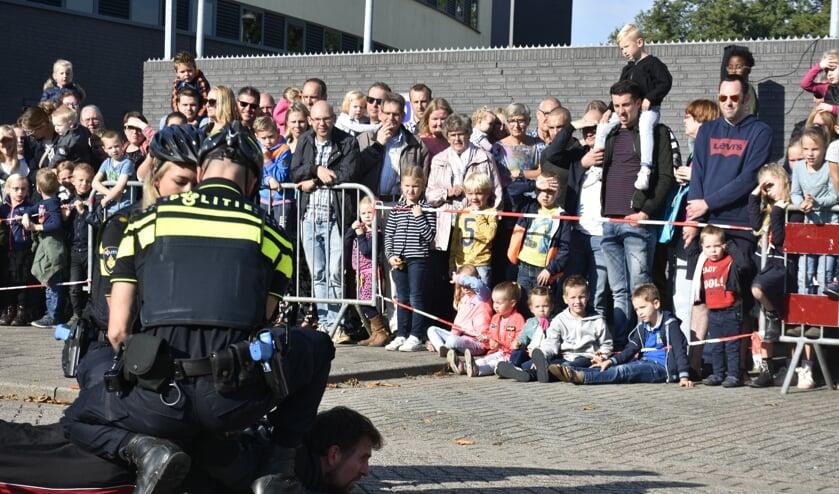 De politie houdt elk jaar een open dag. (Foto:archief Hart van Holland)