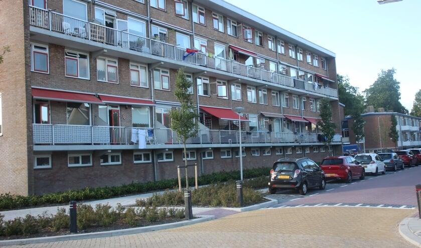 De flat aan de Ingenieur Leemanstraat.