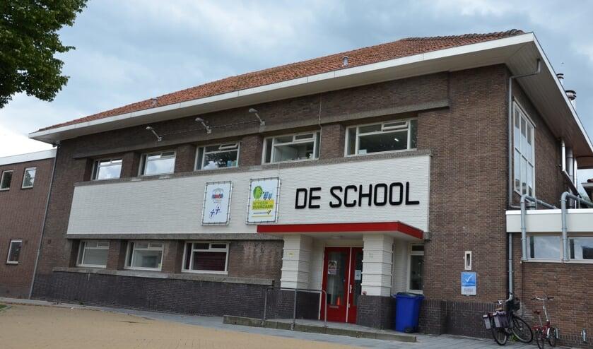 De school uit 1925 is ontworpen door de Waddinxveense architect Schuurman. (foto en tekst: Myriam Dijck)