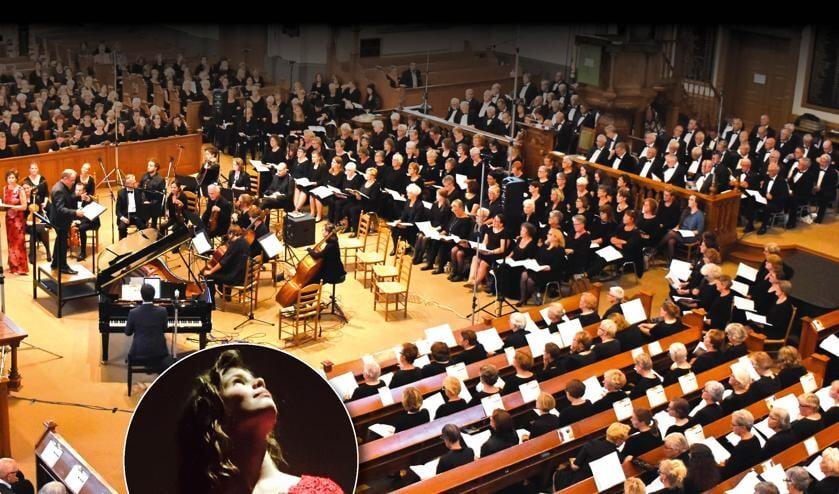 Het Groot Nederlands Klassiek Koor 1 treedt binnenkort op in Rotterdam, samen met soliste Sterre van Boxtel. (Foto:pr)
