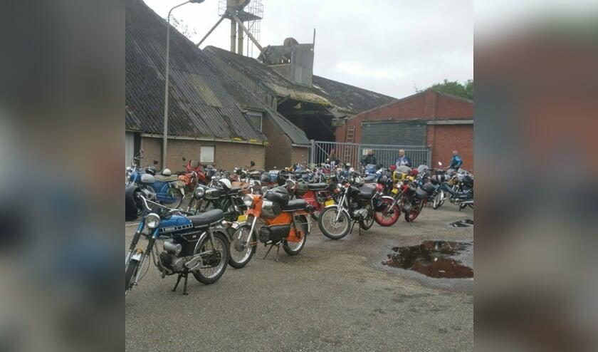 Zündapp, Puch, Kreidler, Yamaha: alle merken oldtimer brommers zijn welkom op de show. (foto: pr)