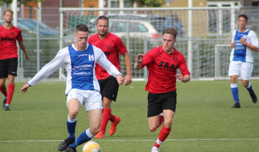 Moerkapelle viel wel aan, maar scoorde niet tegen Bodegraven.