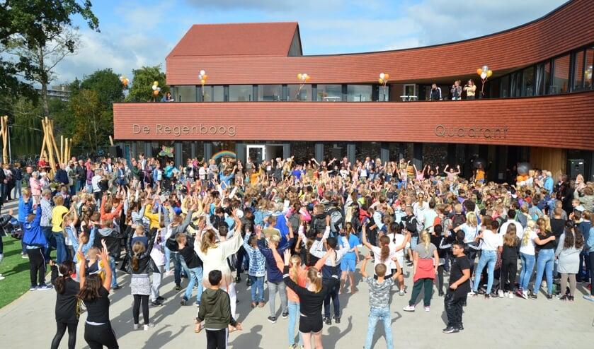 Opening van kindcentrum Groenoord. (foto en tekst: Nicole Lamers)