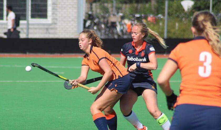 Luuke Six voorkwam met haar treffer dat De IJssel voor de tweede keer verloor.