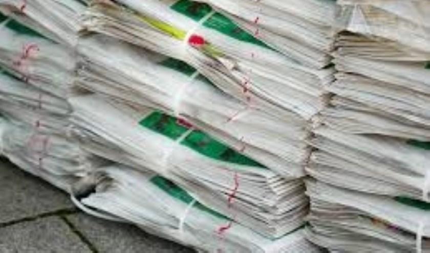 Oud papier inzamelen levert steeds minder op. (foto:pr)