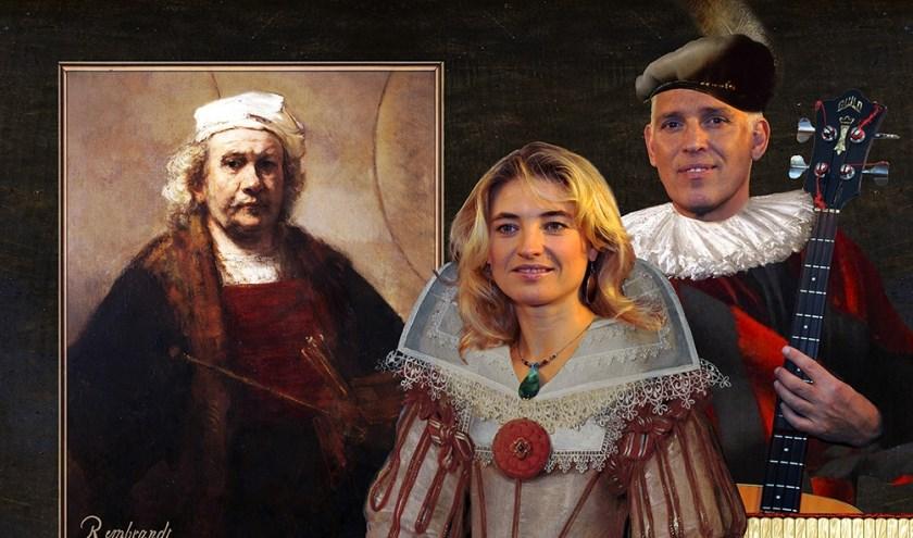 De Russische accordeoniste en zangeres Irena Filippova en Oud-Flairck gitarist Hans Visser laten zich inspireren door oude meesters.