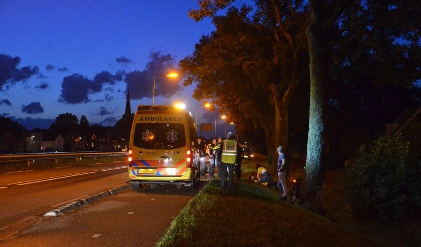 De oorzaak van het ongeval is niet bekend. (foto: Rob de Jong/112hm.nl)