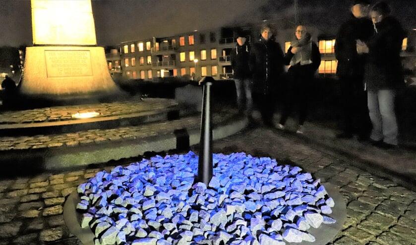 Het monument zag het Levenslicht in Nieuwerkerk. Hierna 'reist' het verder naar de volgende plaatsen in Zuidplas.