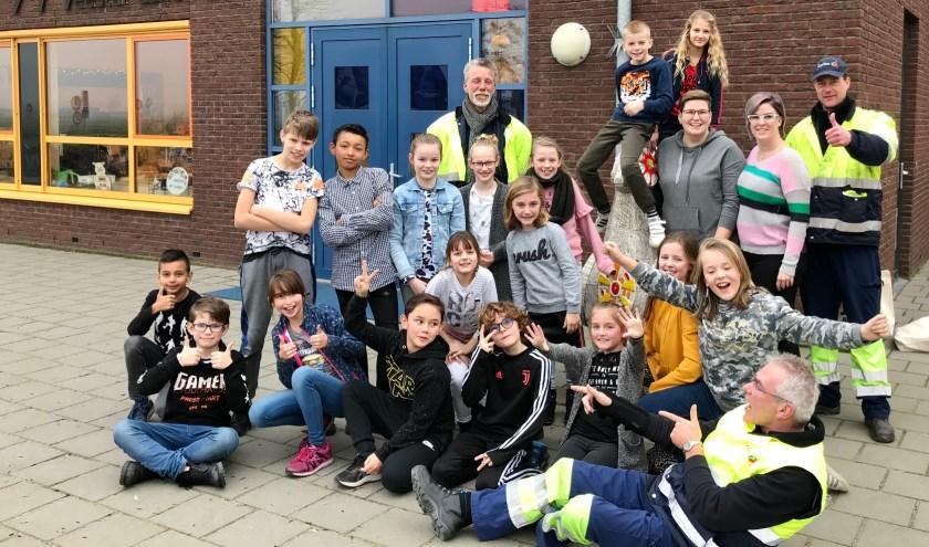 De Meester Lallemanschool haalt alles uit de kast om het predikaat 'afvalvrije school' binnen te halen. (foto: pr)