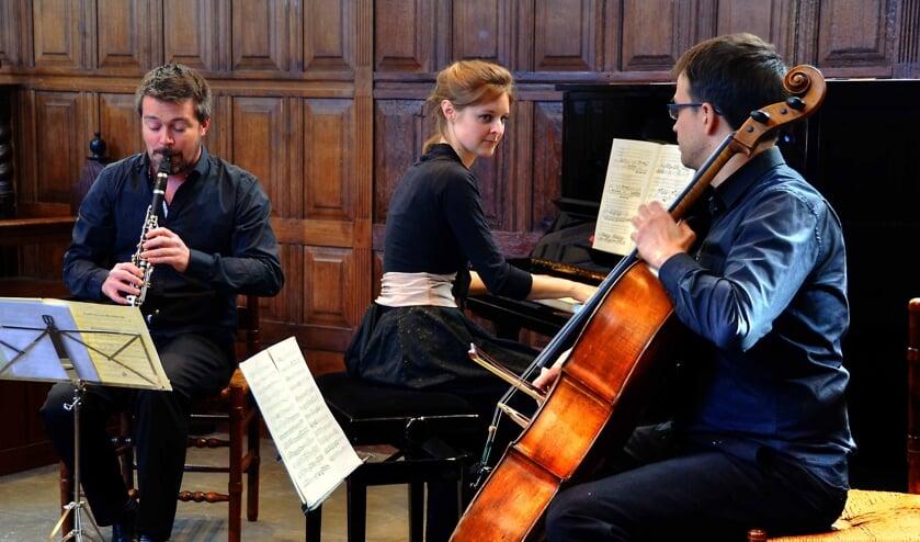 Het Arcadië Trio.