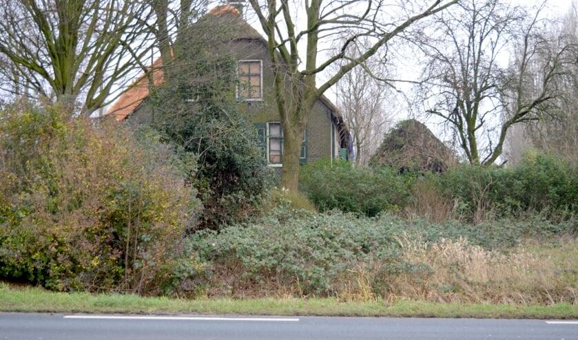 De Geertruidahoeve aan de Eerste Tochtweg in januari. De gemeente is met de eigenaar op zoek naar een nieuwe ontwikkelaar. (foto: Judith Rikken)