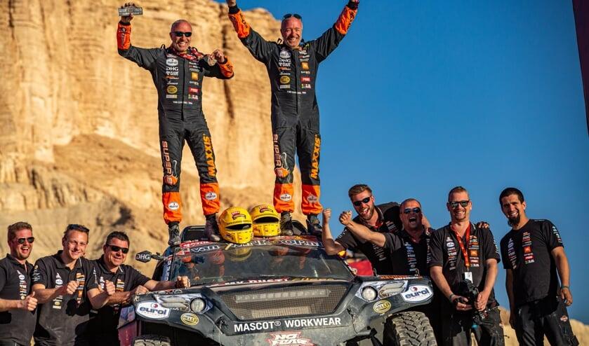 De broers Tim en Tom Coronel behaalden plek 25 in de Dakar Rally 2020.