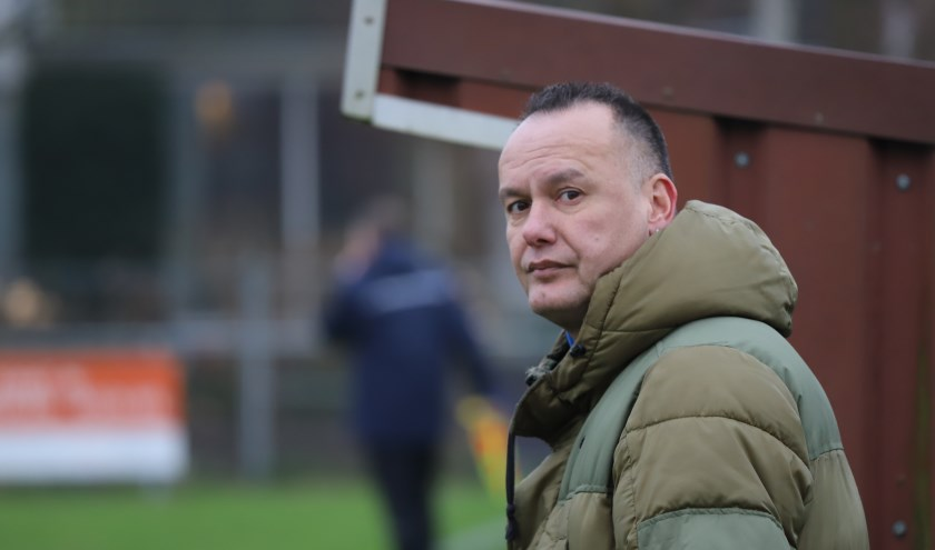 Glenn Telusa is bezig aan zijn eerste seizoen als trainer van Moordrecht.