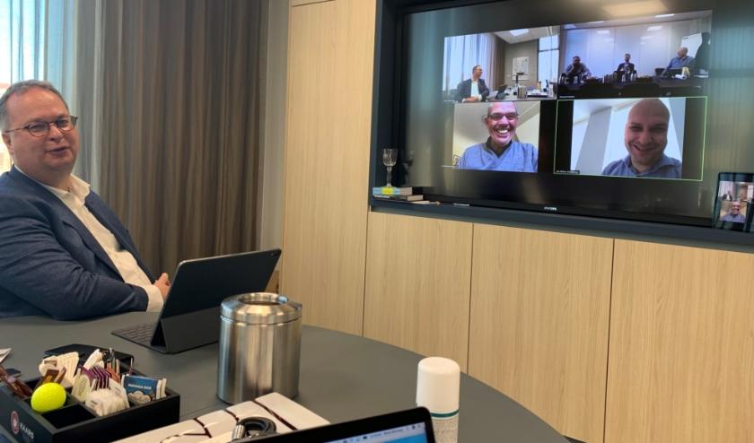 Volgens de gemeente brengen álle applicaties voor videovergaderen enige risico's met zich mee.