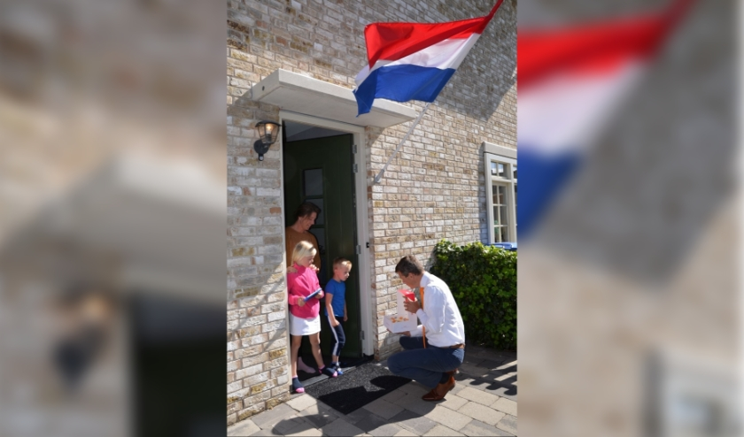 De familie Dijkshoorn is aangenaam verrast.