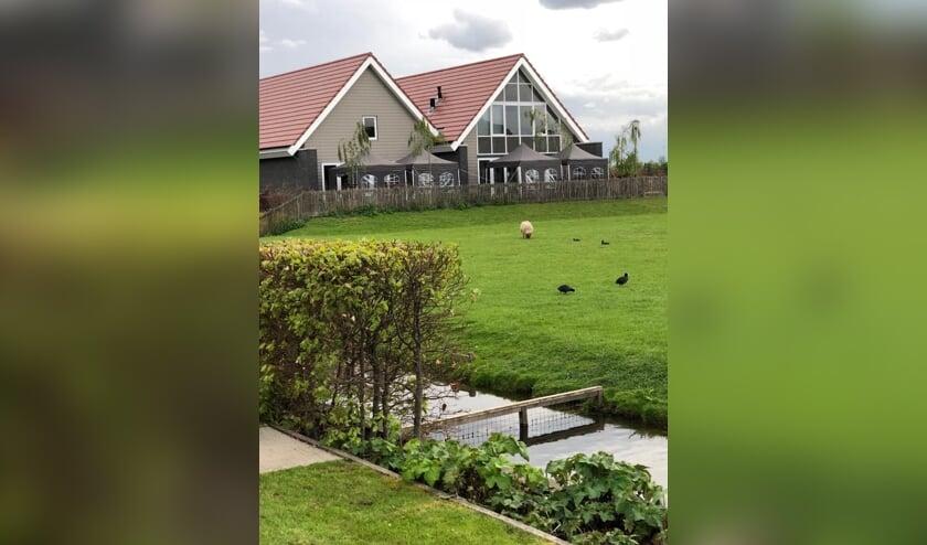 Het hospice aan de Florijnlaan in Waddinxveen vandaag de dag.