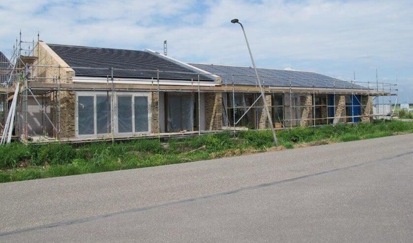 In het najaar moet de bouw van het hospice afgerond zijn.
