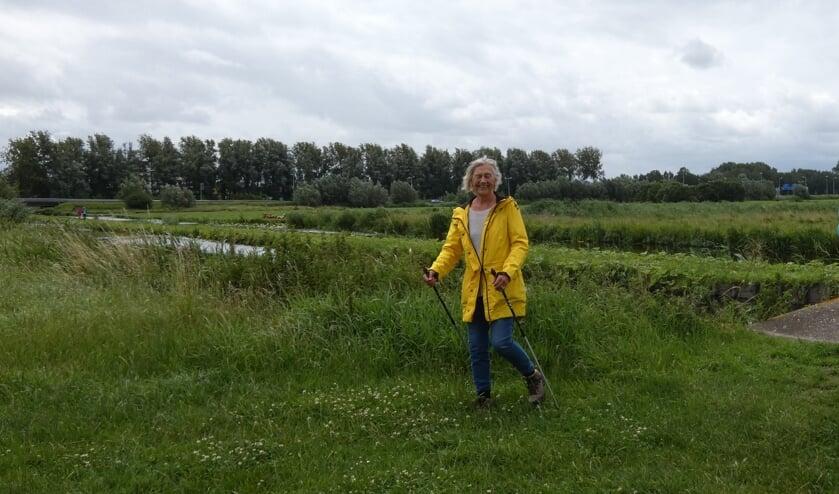 Greet Kraaij omschrijft de Bloemendaalse polder als een 'paradijs'.