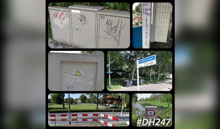 Vernieling in Nieuwerkerk.